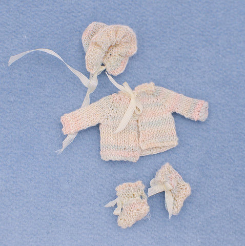 Baby Clothing Set, Hand Crocheted.