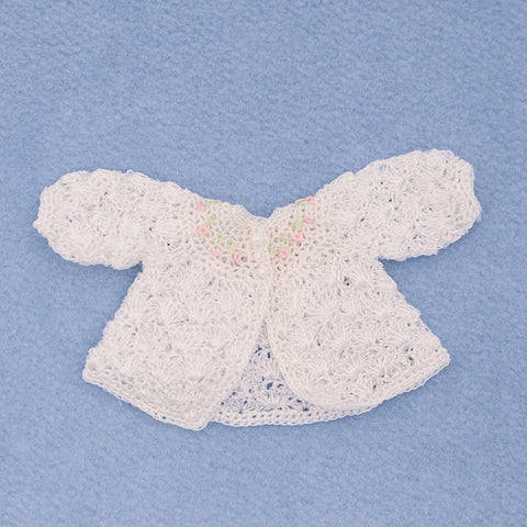 Hand Crocheted Baby Sweater