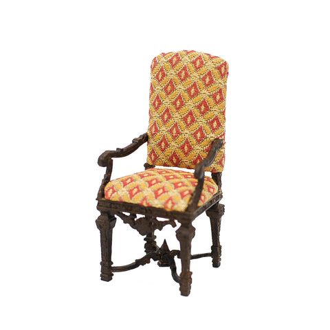 Upholstered High Back Chair