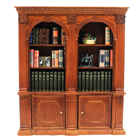 Double Bookcase, Filled