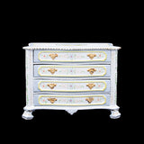 Bespaq Hand Painted Chest and Mirror