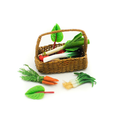 Basket of Fresh Vegetables A