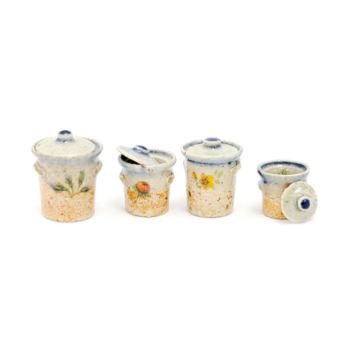 Hand Thrown Canister Set