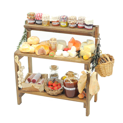Pantry Sideboard Filled with Farm Stand Selection