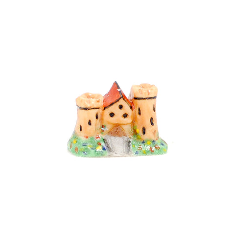 Porcelain Castle Figurine
