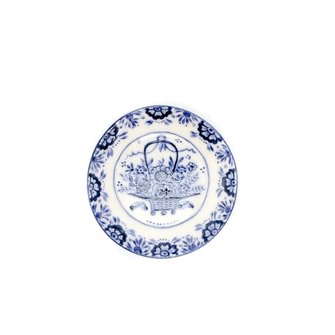 Blue and White Plate by Cocky Wildschut