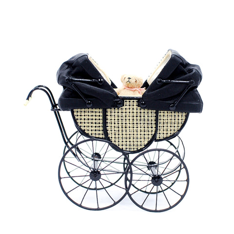 Double  English Pram by Yvonne Roberson