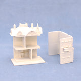 144th Scale Kummerow Dollhouse, Resin