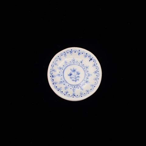 Blue and White Deviled Egg Plate