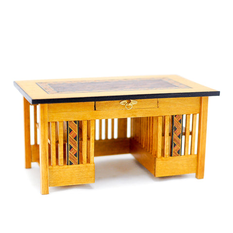 Mission Style Desk by Frank Preene