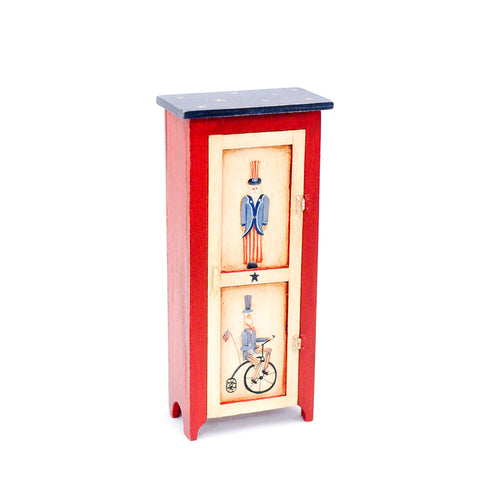 Patriotic Cupboard by Jamie Milllar