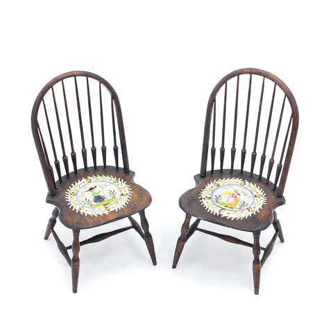 Pair of Karen Markland Chairs