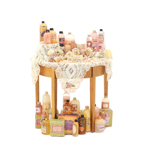 Lotions Display Table