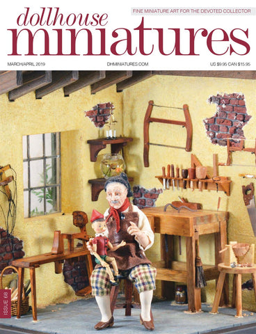 Dollhouse Miniatures Magazine March-April 2019