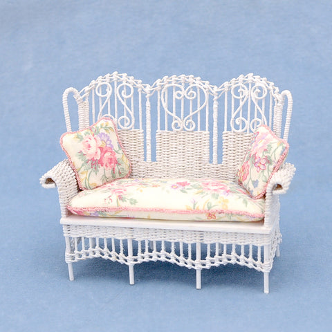 Victorian Wicker Settee by Lee McCurley