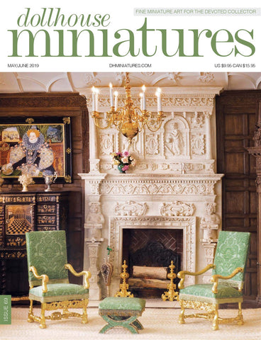 Dollhouse Miniatures Magazine May-June 2019