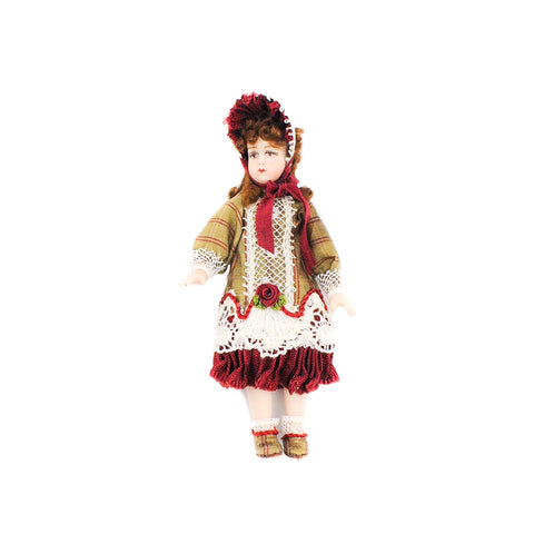 Girl with Red and Gold Bonnet