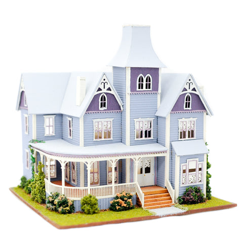1/144th Scale Blue Mansion by Pat Russo