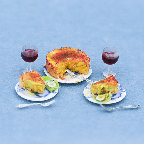 Quiche and Wine Set