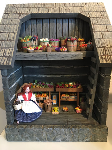 Produce Store Display