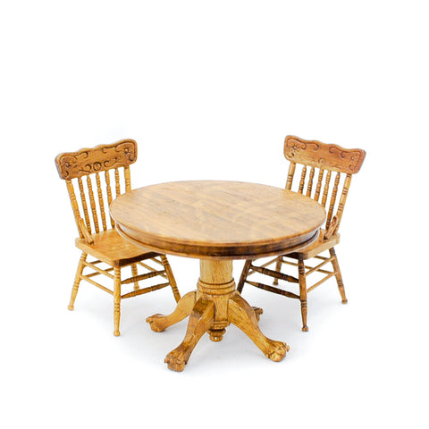 Table and Chair Set, Oak