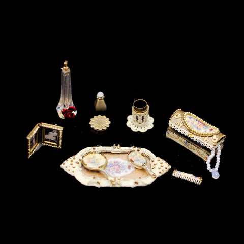 Ladies Dresser Accessory Set