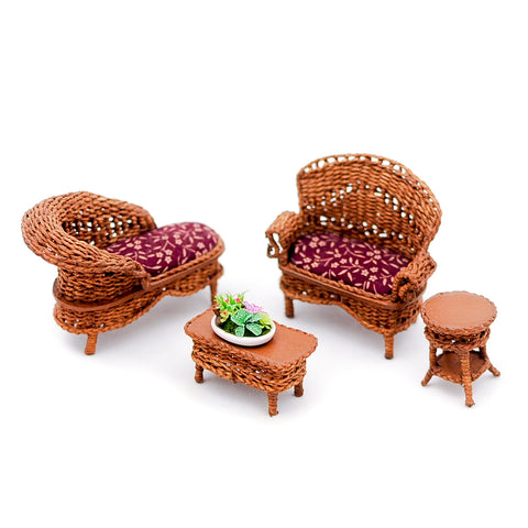 Wicker Set, Half Scale
