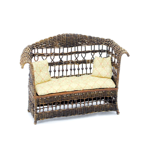 Wicker Settee by Uncle Ciggie