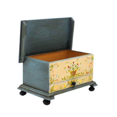 Hand Painted Dower Chest