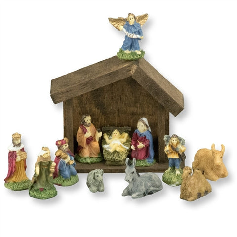 Nativity Set, Resin