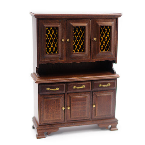 Hutch with Upper Cabinets