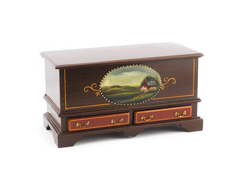 Therese Ball Trunk with Barn
