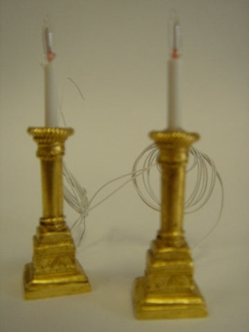 Candle Sticks, Art Deco