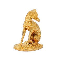 Bronzed Dog Figurine