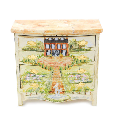 Hand Painted Chest of Drawers No. F27