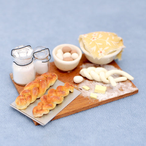 Fresh Braided Bread Board by Betsy Niederer