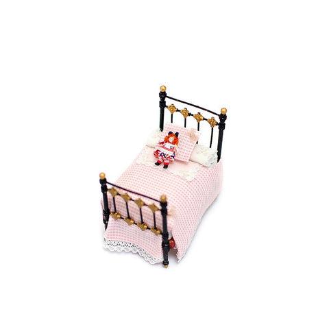 Doll's Doll Bed, Pink