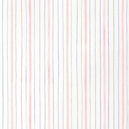 Veriga Multi-color Stripe  Prepasted Wallpaper