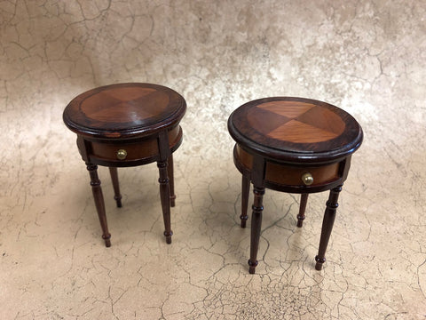 Pair of Regency End Tables