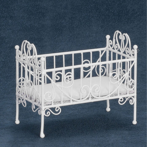 Crib, Metal Wicker