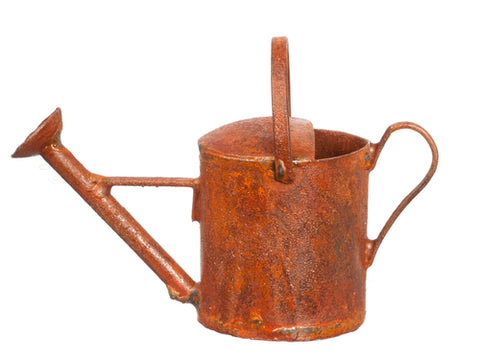 Watering Can, Rust Finish