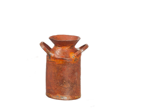 Milk Can, Rust Finish