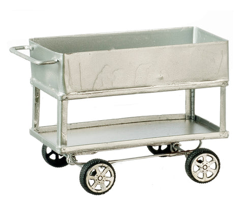 Utility Cart with Two Shelves