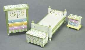 Bedroom Set, Spring Time Theme, Single Bed
