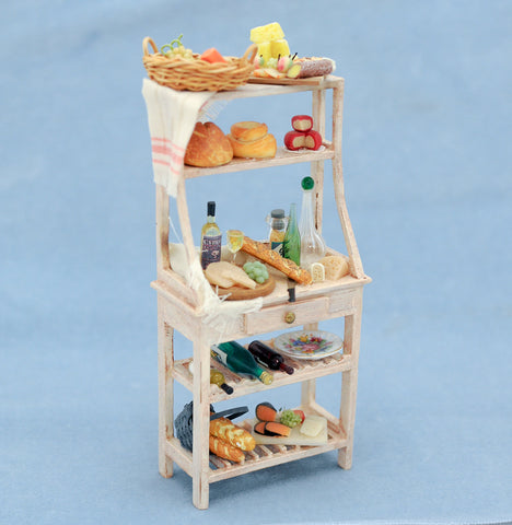 Kitchen Display Stand With Accessories
