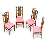 Bamboo Chairs, Set of Four