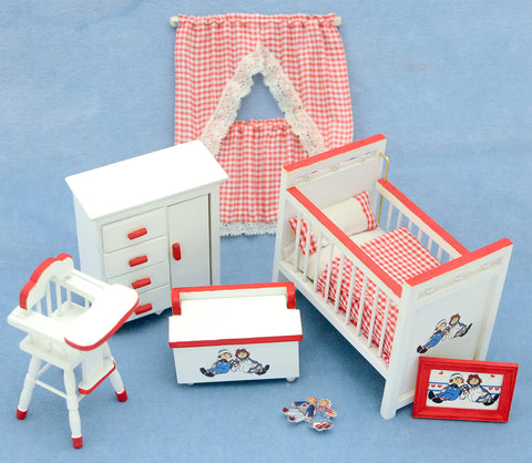 Raggedy Ann and Andy Nursery Set