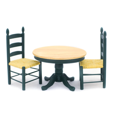Table and Chair Set, Green