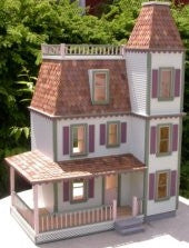 Westdale Dollhouse Kit Milled Plywood