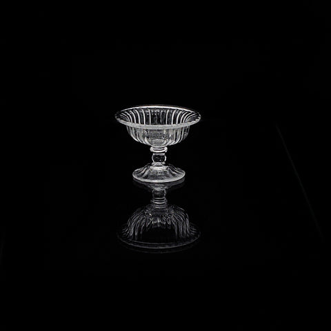 Baccarat Design Footed Compote